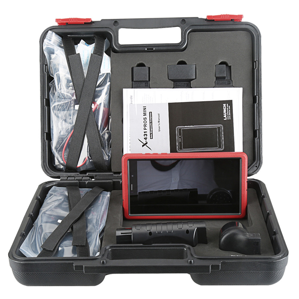 Launch - Launch X431 Pros Mini Red Color Full System Car Diagnostic Tool